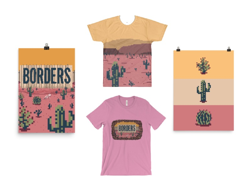 borders merch